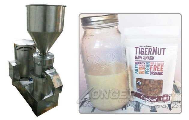 Industrial Tigernut Milk Maker|Peanut Milk Grinding Making Machine