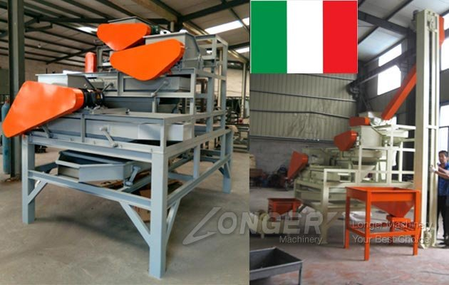 Almond Cracking Machine Italy
