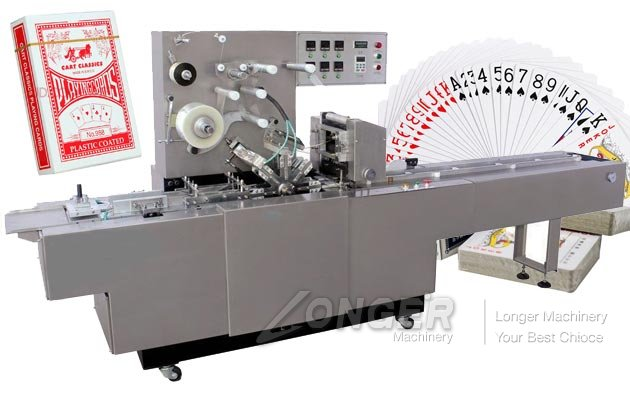 Commercial Playing Card Packing Machine