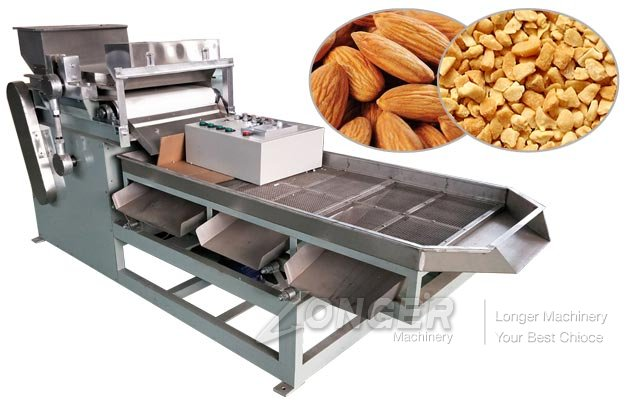 Electric Almond Dicer Chopper Machine for Sale
