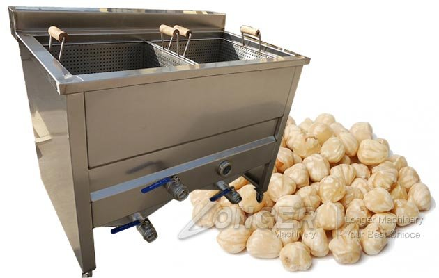 Commercial Hazelnut Blanching Machine|Blanched Almo