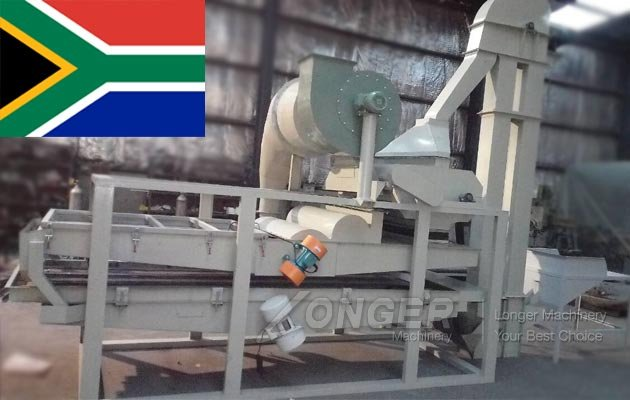 Butternut Seed Shelling Machine Sold to South Africa