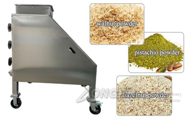 Nut Grinder Powder Machine for Pistachio Hazelnut Walnut