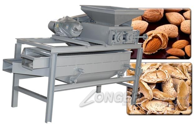 Industrial Almond Shell Removing Machine|Apricot Kernel Cracker