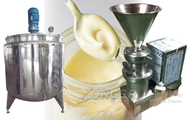 Industrial Mayonnaise Grinding and Mixing Machine for Sale
