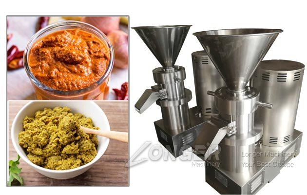 Industrial Thai Curry Paste Grinder Making Machine Manufacturer