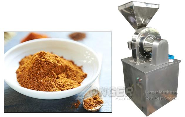 Industrial Curry Powder Grinding Making Machine Price