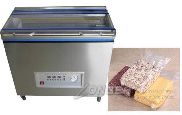 Commercial Brick Bag Shaped Vacuum Packing Machine for Grains