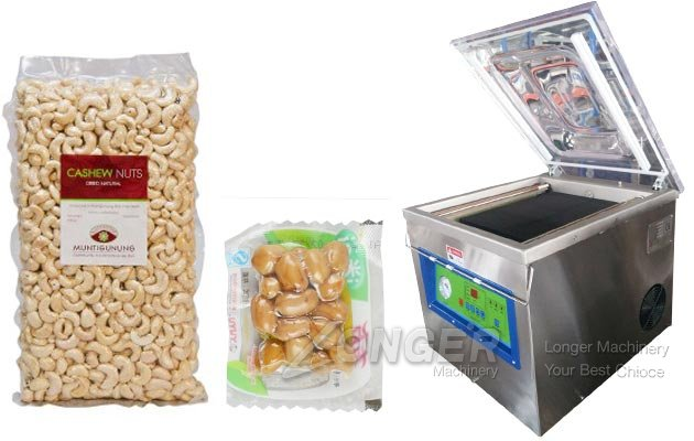 Peanut Cashew Nut Vacuum Packing Machine Price