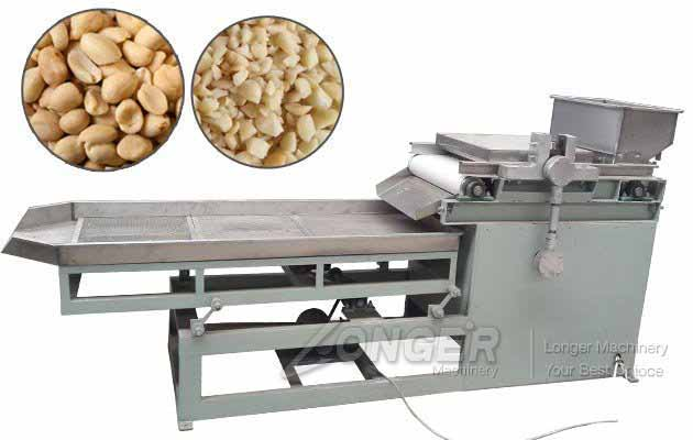 5mm Electric Peanut Almond Chopping Cutting Machine