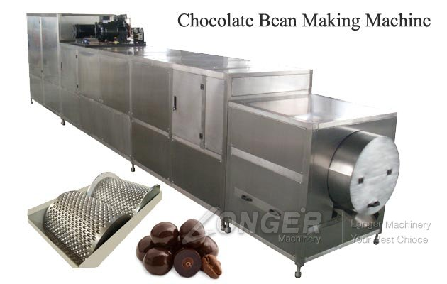 Commercial Chocolate Bean Lentil Forming Making Machine Manufacturer