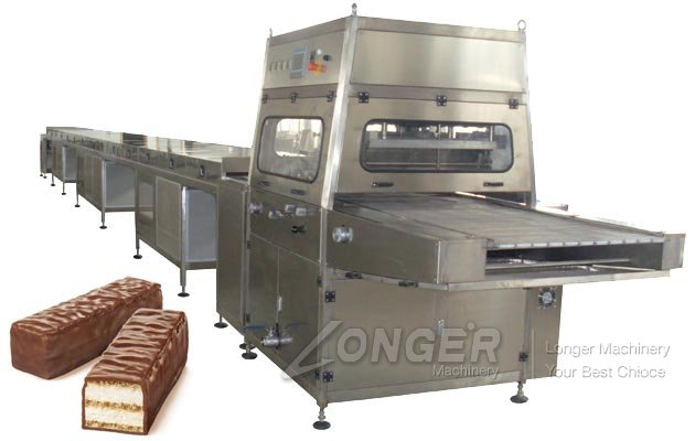 Automatic Chocolate Enrobing Machine Lines for Sale