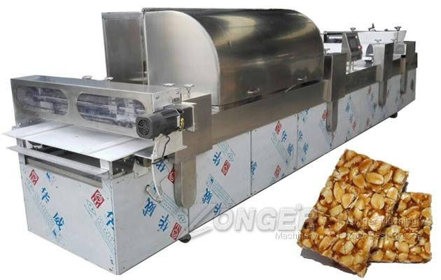 Automatic Peanut Brittle Making Machine for Commercial Use