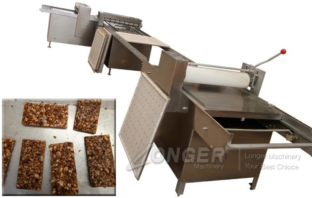 Industrial Peanut Candy Bar Making and Cutting Machine Supplier