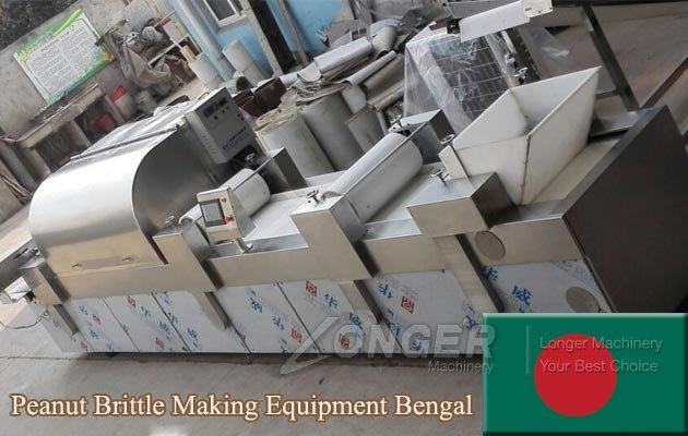 Commercial Peanut Brittle Making Equipment Transported to Bengal