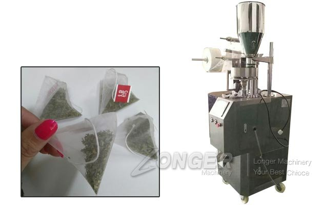 High Precision Pyramid Tea Bag Packing Machine for Small Business