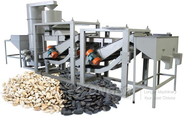 Fully Automatic Sunflower Seeds Hulling Husking Mac