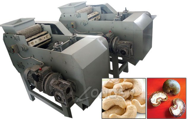 Small Scale Cashew Nut Huller Machine Hulling Equipment Automatic