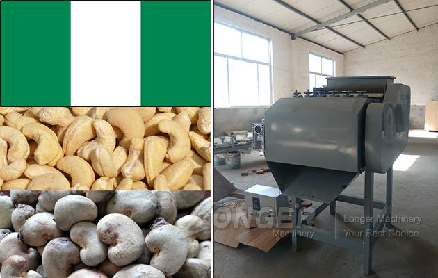 2018 Cashew Nut Shelling Processing Machine in Nigeria