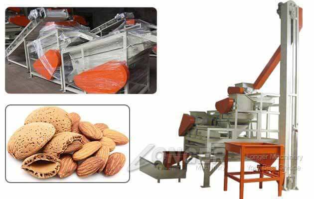 1MT Three Stage Almond Shelling Cracking Machine Price in India