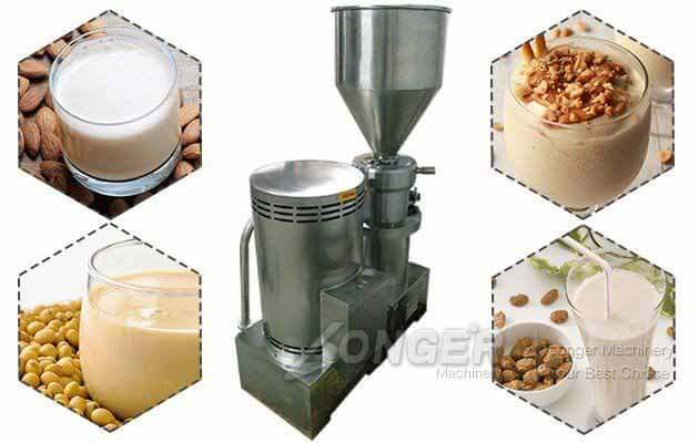 Commercial Almond Nut Milk Making Machine With 60 Liter Hopper