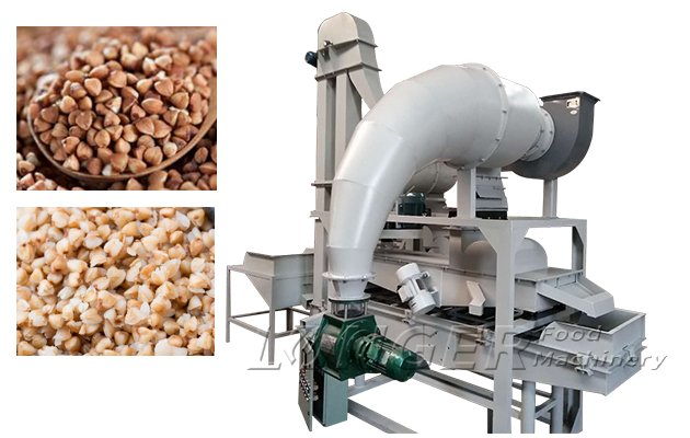 Automatic Buckwheat Cleaning and Hulling Machine