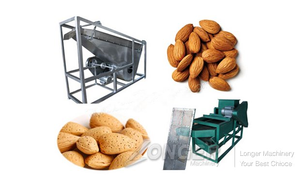 Almond Shell and Kernel Separating Machine