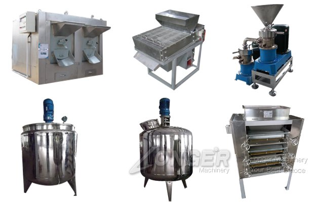 Commercial Peanut Butter Production Line Making Machine