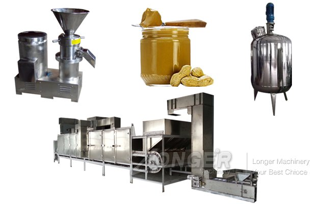 High Efficiency Peanut Butter Production Line