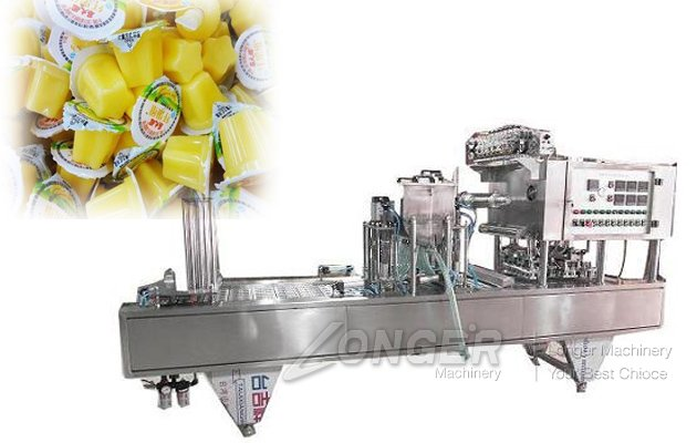 Cup Jelly Filling Sealing Machine China