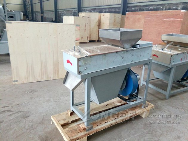Dry Peanut Peeling Machine was Ready to India