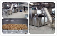 High Quality Continuous Nut Roasting Machine
