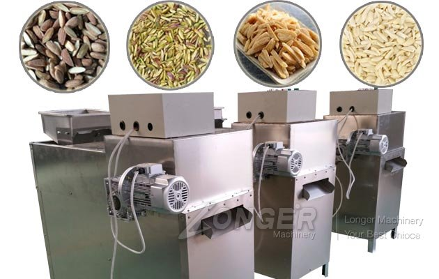 Almond Strips Cutting Machine