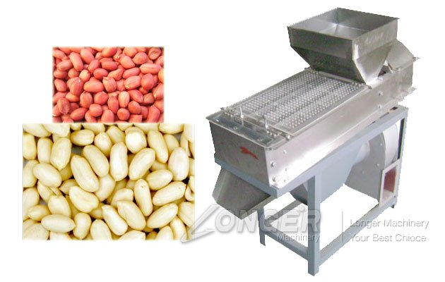 roasted peanuts skin removing machine