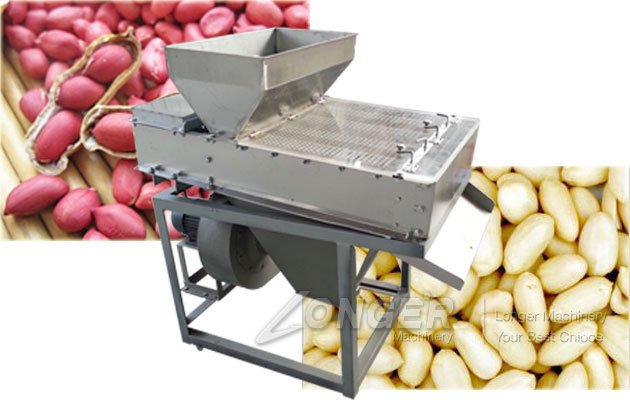 dried peanut peeling machine