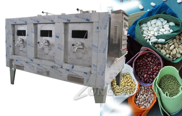 beans roasting machine
