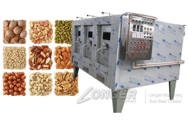 nuts roasting machine