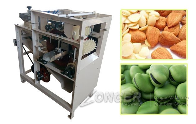 wet almond peeler equipment