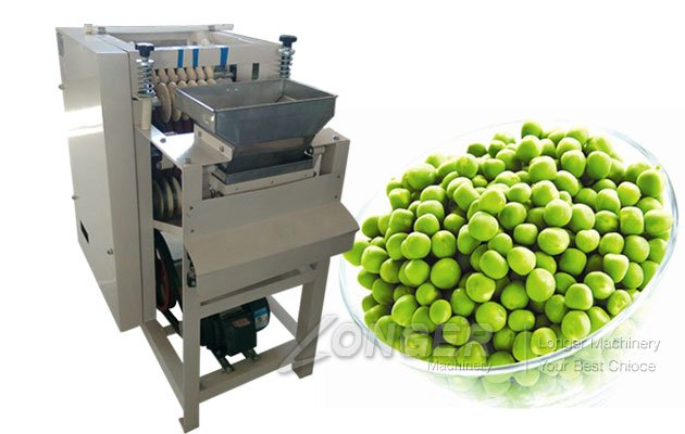 green peas peeler machine