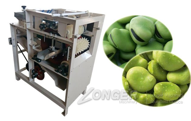 broad bean peeling machine