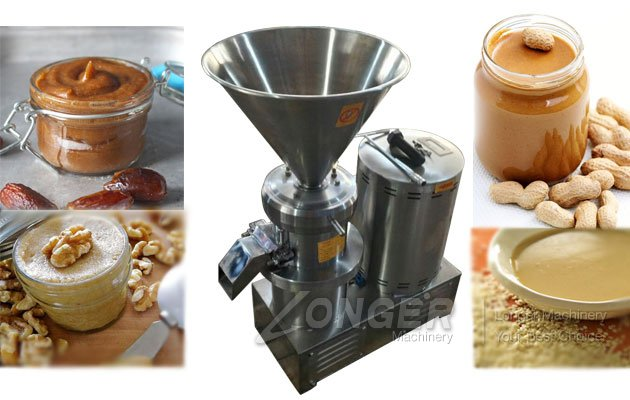 colloid mill peanut butter