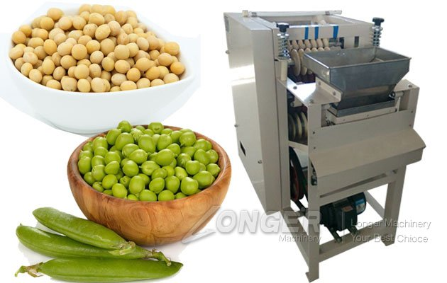 beans peeling machine