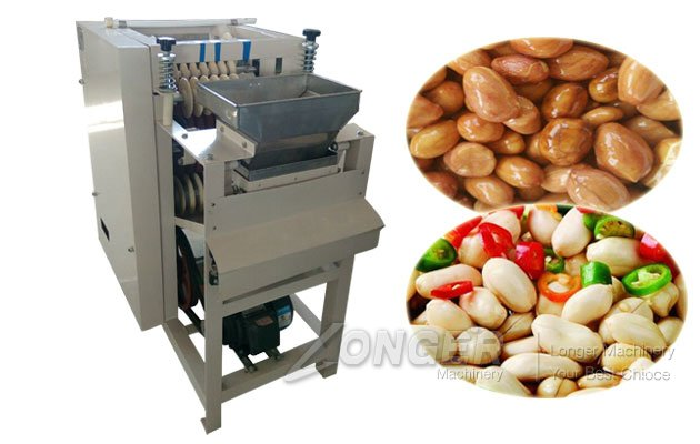 soaked peanut skin peeling machine
