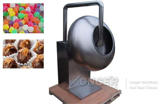peanut coating machine