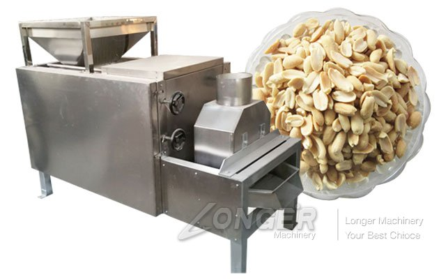 Peanut Half Cutting Machine