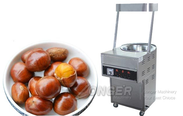 Chestnut Frying Process