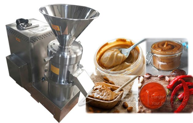 Peanut Paste Grinding Machine