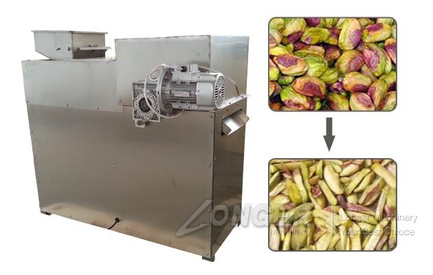 Pistachio Strips Cutting Machine