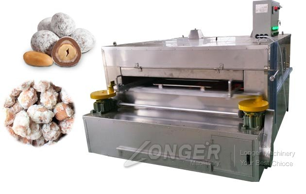 Coated Groundnut Roasting Machine