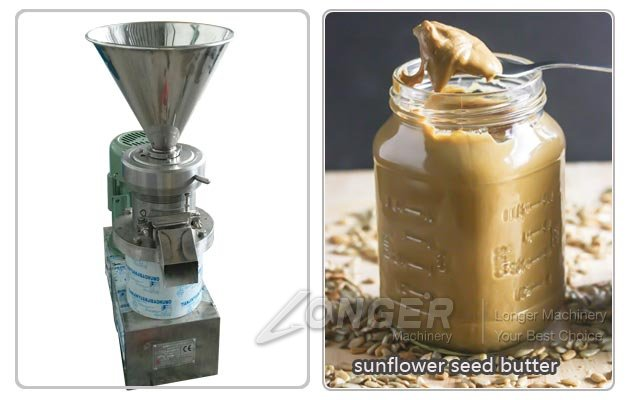 Sunflower Seed Butter Grinding Machine